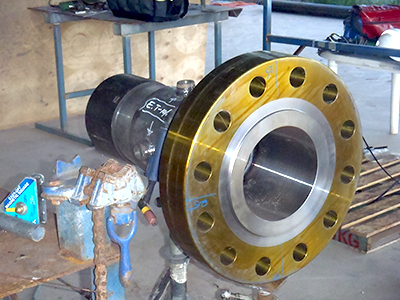 Specialised Field and Plant Services On-Site Pressure Welding