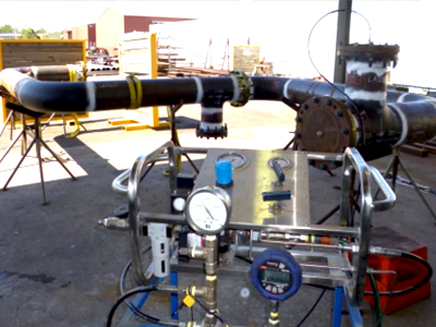 Specialised Field and Plant Services On-site Hydrostatic testing